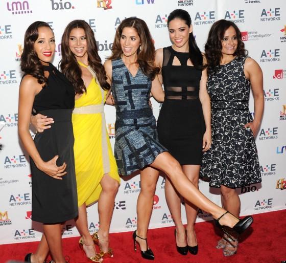 Dania Ramirez, Roselyn Sanchez, Ana Ortiz, Edy Ganem, Judy Reyes